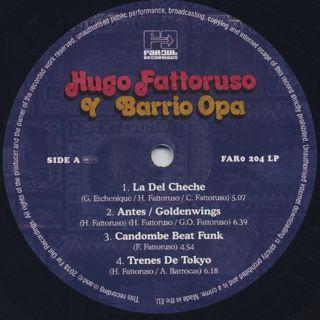 Hugo Fattoruso / Hugo Fattoruso Y Barrio Opa label