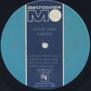 Jayson Lindh / Ramadan label