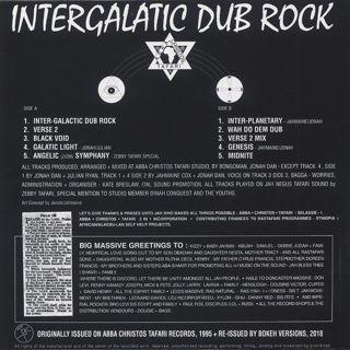 Jonah Dan / Intergalactic Dub Rock back