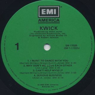 Kwick / S.T. label