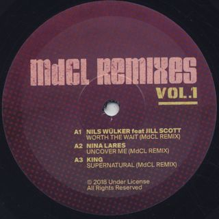 Mark De Clive-Lowe / MDCL Remixes vol.1 label