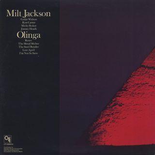 Milt Jackson / Olinga back