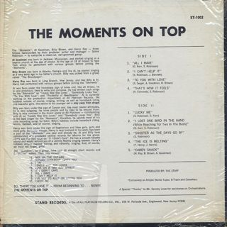 Moments / On Top back