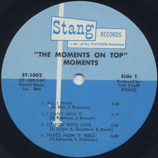 Moments / On Top label