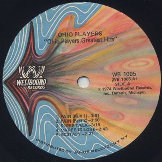 Ohio Players / Greatest Hits label