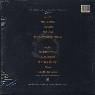 Quincy Jones / The Dude back