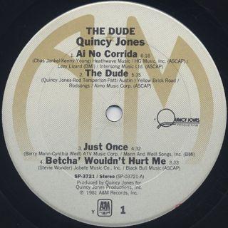 Quincy Jones / The Dude label