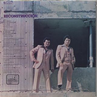 Ricardo Ray & Bobby Cruz / Reconstruccion back