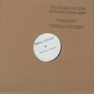 V.A. / The Sound Of Love International Sampler front