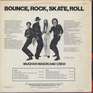 Vaughan Mason And Crew / Bounce, Rock, Skate, Roll back