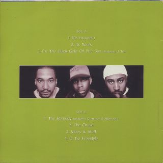 A Tribe Called Quest / The Jam EP Vol. 4 back
