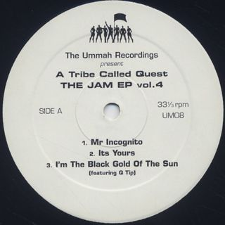 A Tribe Called Quest / The Jam EP Vol. 4 label