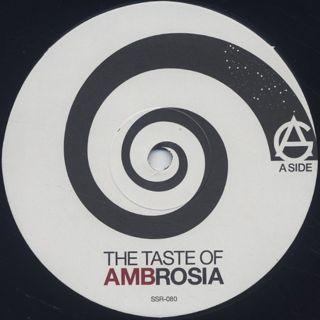 AG / The Taste Of AMBrosia label