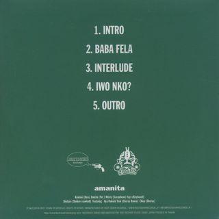 Amanita / Afro EP back