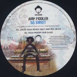 Amp Fiddler / So Sweet (Louie Vega Remix) back