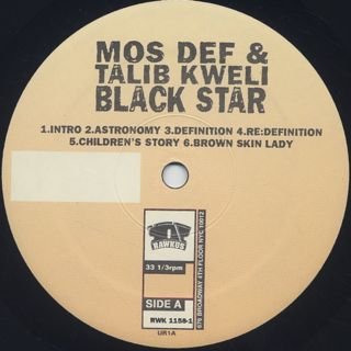 Black Star / Mos Def & Talib Kweli Are Black Star label