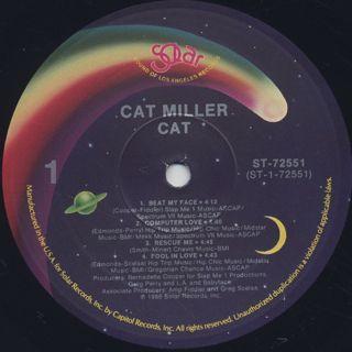 Cat Miller / Cat label