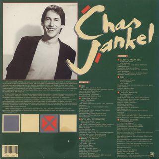 Chas Jankel / Questionnaire back