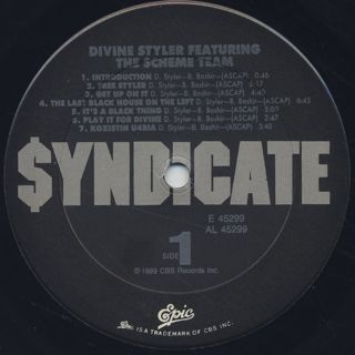 Divine Styler / Word Power label