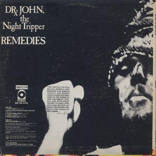 Dr. John The Night Tripper / Remedies back