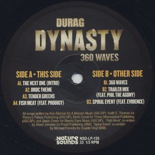 Durag Dynasty / 360 Waves label
