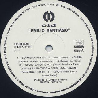 Emilio Santiago / S.T. label
