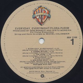 Flora Purim / Everyday Everynight label