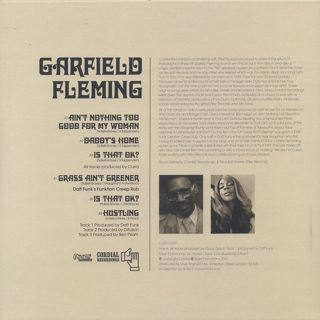 Garfield Fleming / S.T. back