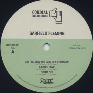 Garfield Fleming / S.T. label