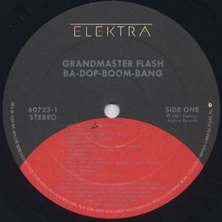 Grandmaster Flash / Ba-Dop-Boom-Bang label