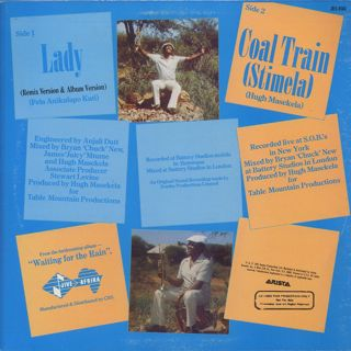 Hugh Masekela / Lady back