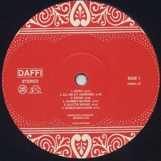 Jeremiah Jae / Daffi label