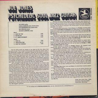 Joe Jones / My Fire! More Of The Psychedelic Soul Jazz Guitar Of Joe Jones back