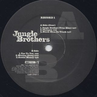 Jungle Brothers / Raw Deluxe label