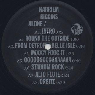 Karriem Riggins / Alone label