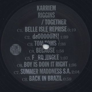 Karriem Riggins / Together label