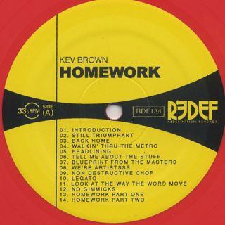 Kev Brown / Homework (LP+7