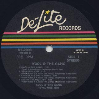 Kool and The Gang / Kool And The Gang label
