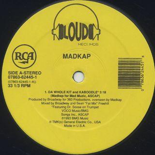 Mad Kap / Da Whole Kit And Kaboodle label