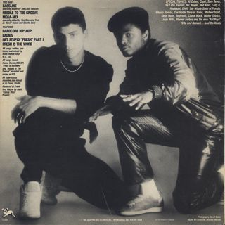 Mantronix / The Album back