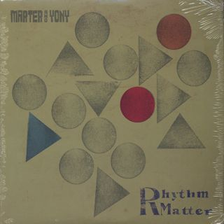 Marter and Yony / Rhythm Matter front