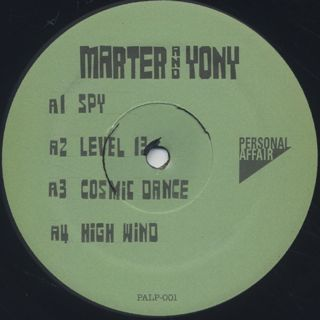 Marter and Yony / Rhythm Matter label