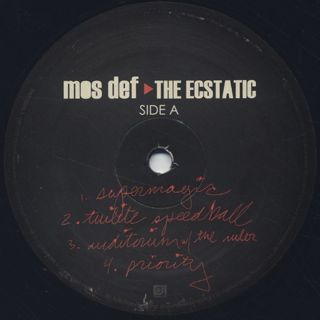 Mos Def / The Ecstatic label