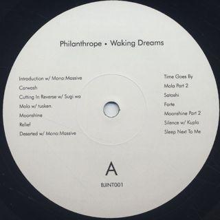 Philanthrope / Waking Dreams label