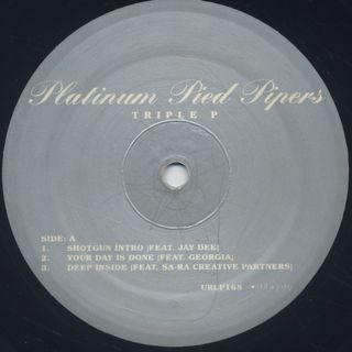 Platinum Pied Pipers / Triple P label