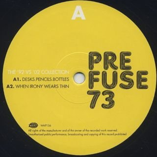 Prefuse 73 / The '92 vs '02 Collection label