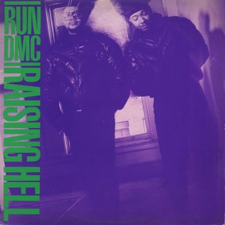 Run DMC / Raising Hell front