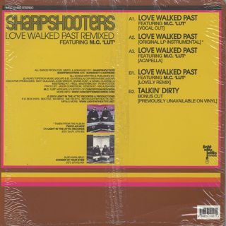 Sharpshooters / Love Walked Past (Remixed) back