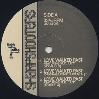 Sharpshooters / Love Walked Past (Remixed) label