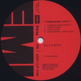 Super Elcados / Togetherness Is Always A Good Venture - Tambourine Party Vol. 2 label